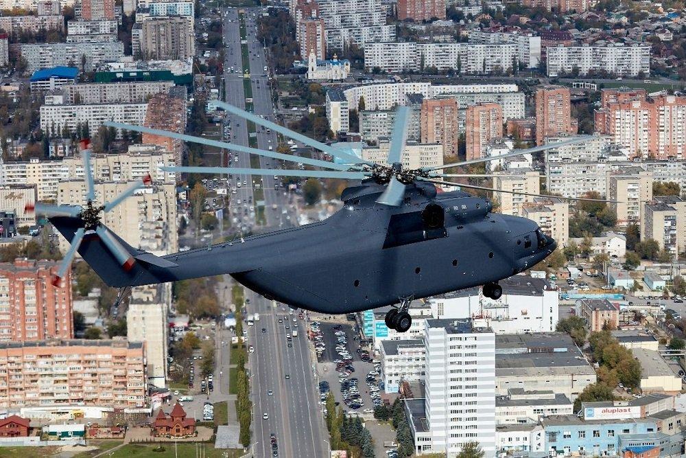 """Новый вариант самого тяжелого вертолета в мире покажут на """"Армии-2018"""""""