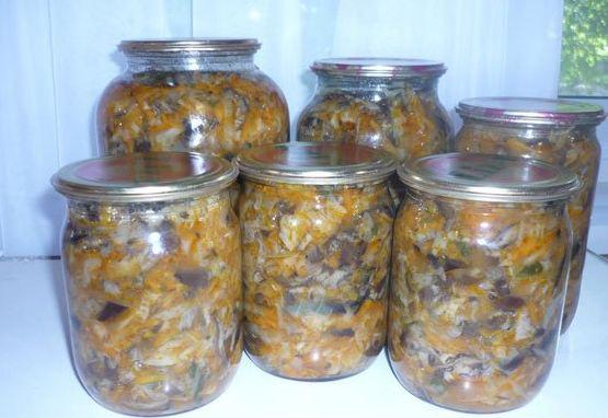 Подборка заготовок  грибов на зиму