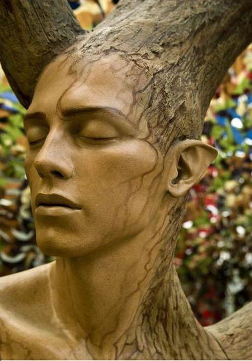 Душ деревянный