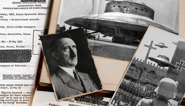 """Рассекреченные документы ЦРУ подтверждают существование """"летающих тарелок"""" Третьего рейха"""