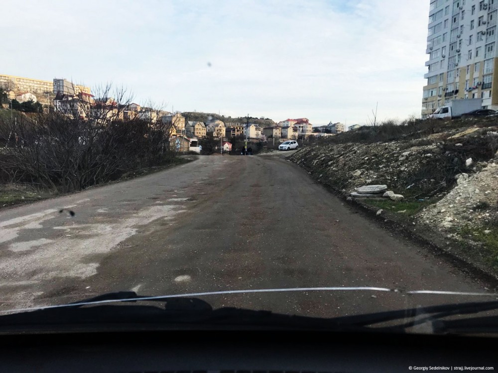 """Самая """"убитая"""" дорога Севастополя тогда и сейчас"""