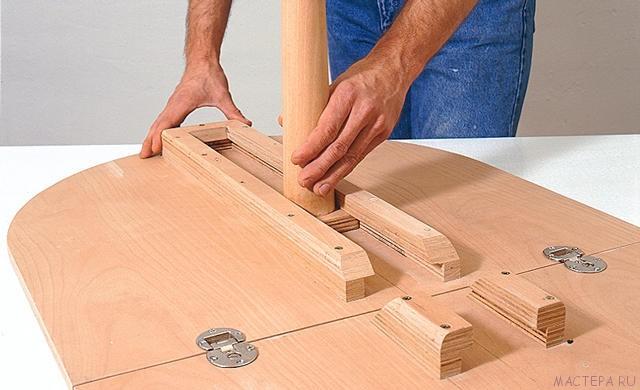 Как своими руками сделать раздвижной стол своими руками