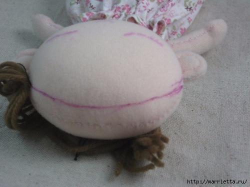 Как сшить куклу. Выкройка и фото мастер-класс (15) (500x375, 102Kb)