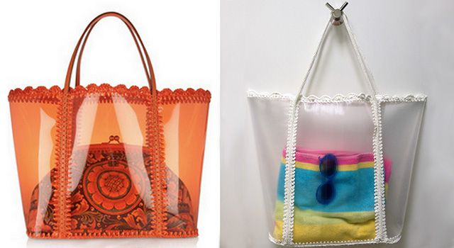 Прозрачная летняя сумка: мастер-класс