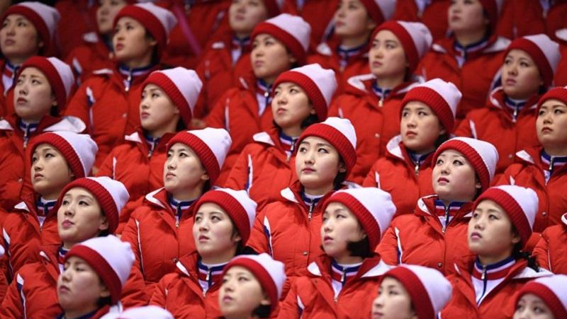 Откуда взялись северокорейские чирлидерши — самые громкие болельщицы на Олимпиаде