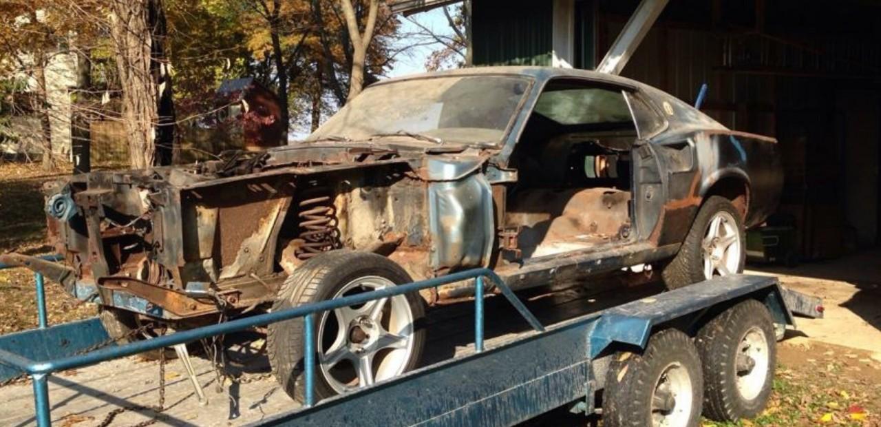Восстановление Ford Mustang 1969