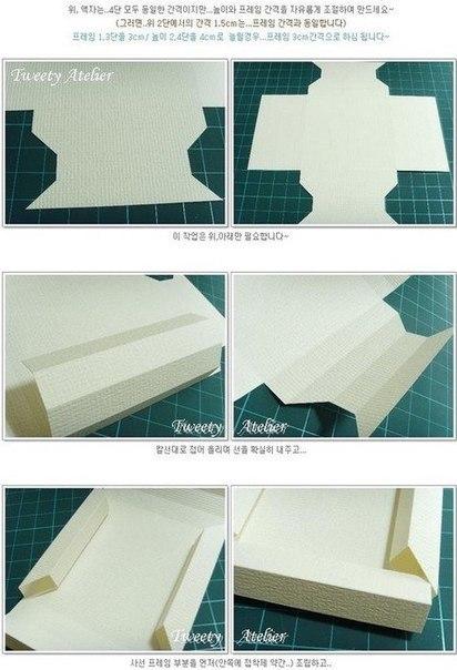 Как сделать рамку из картона пошагово