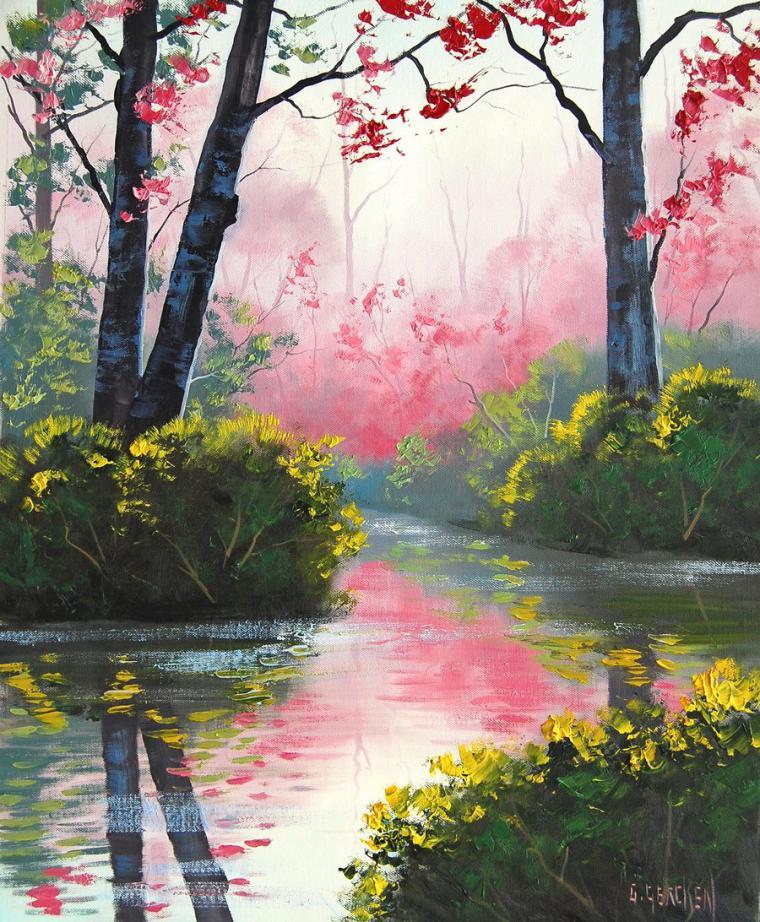 Солнечные пейзажи австралийского художника Graham Gercken