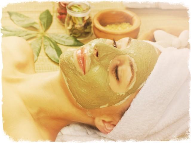 зеленая глина маска