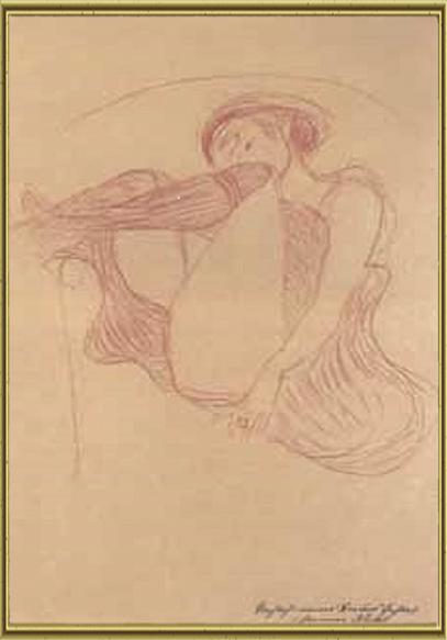 Густав Климт и его Муза: Фрейд не помог ( эротика и дизайн.)