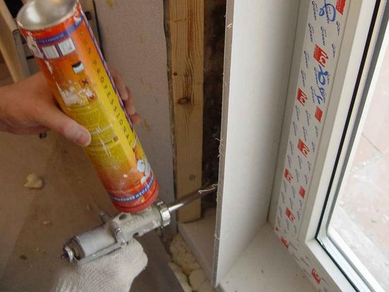 Как отделать пластиковые окна внутри комнаты