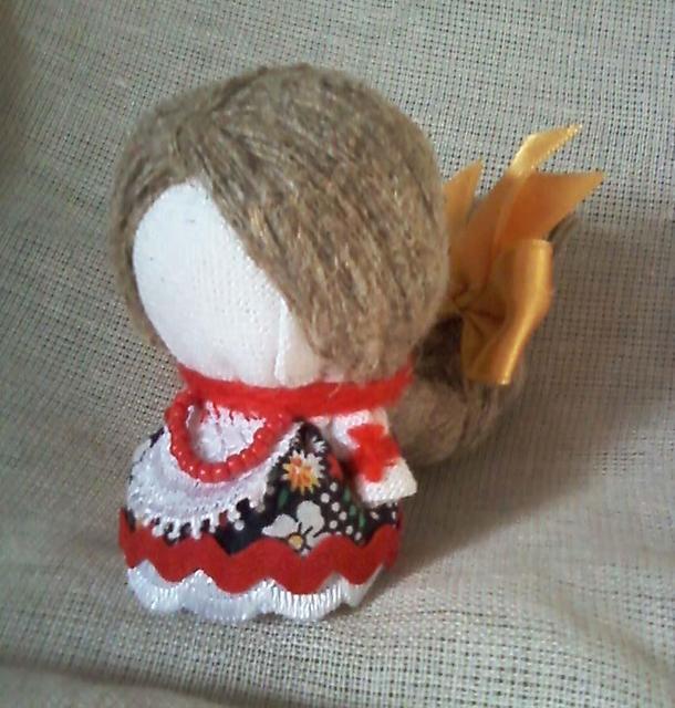 Как сделать славянскую куклу из ткани своими руками