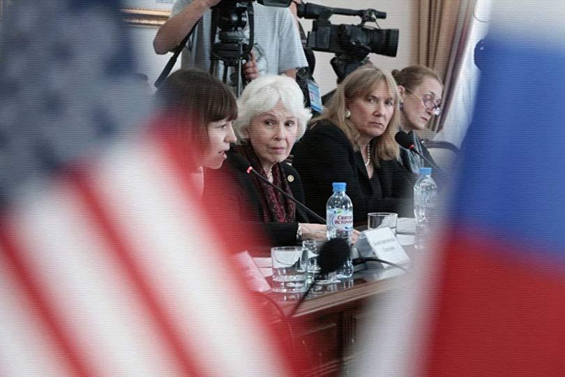 В Крым прибыла делегация общ…