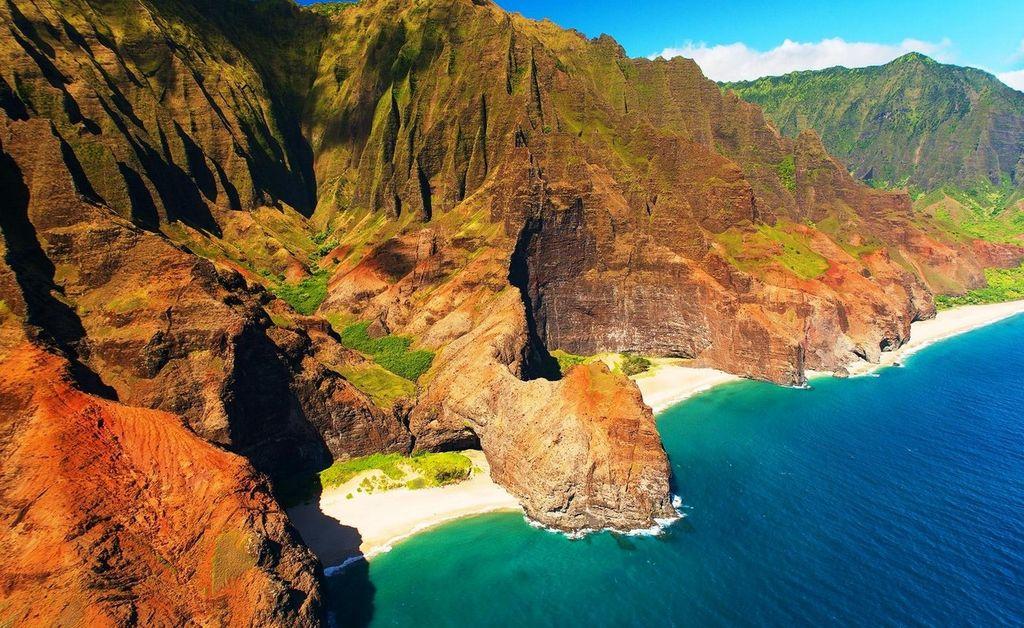 Изолированный пляж Хонопу - Кауаи