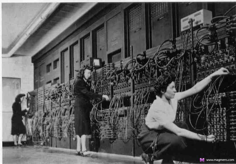Самый первый и самый современный компьютер