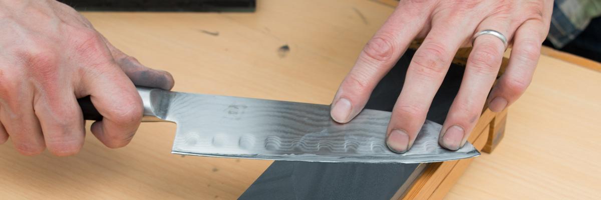 Как самостоятельно точить кухонные ножи