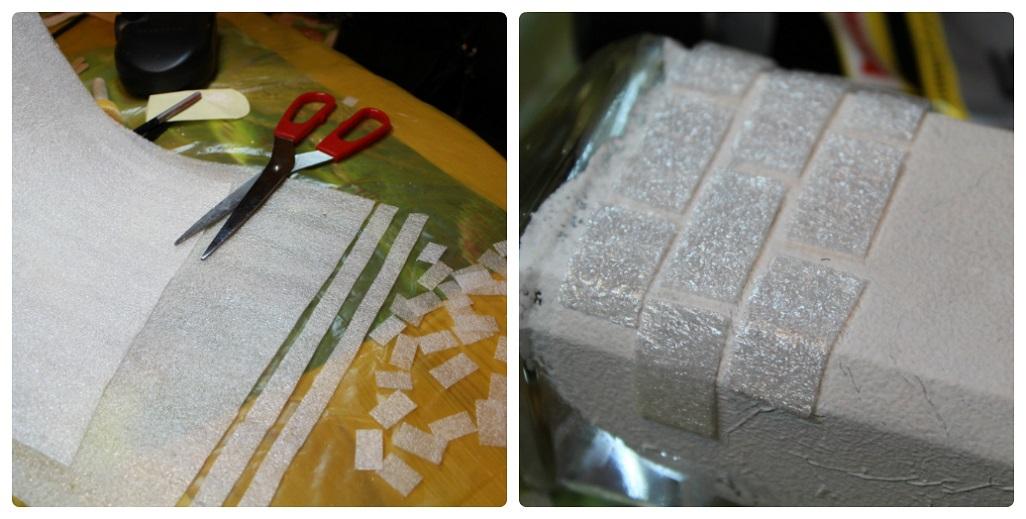 Как сделать имитацию кирпичной кладки своими руками из картона