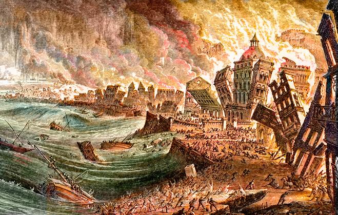 Божественная трагедия: землетрясение, которое изменило ход истории и мировоззрение европейцев