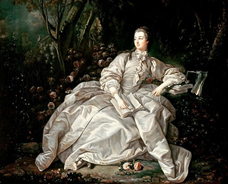 Фаворитки королей - Жанна-Антуанетта Помпадур