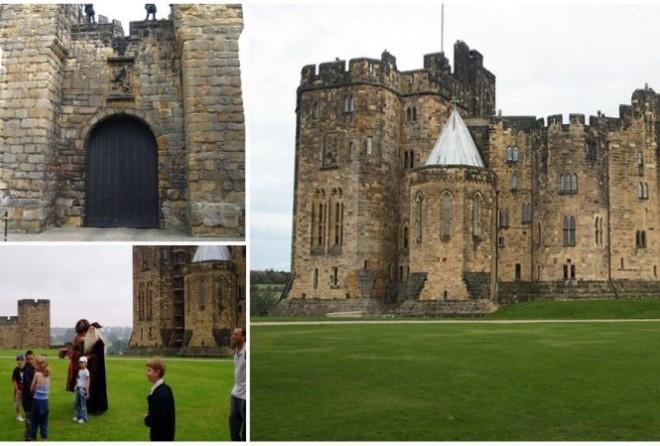 Замок Алник в Англии - прототип Школы Чародейства и Волшебства Хогвартс