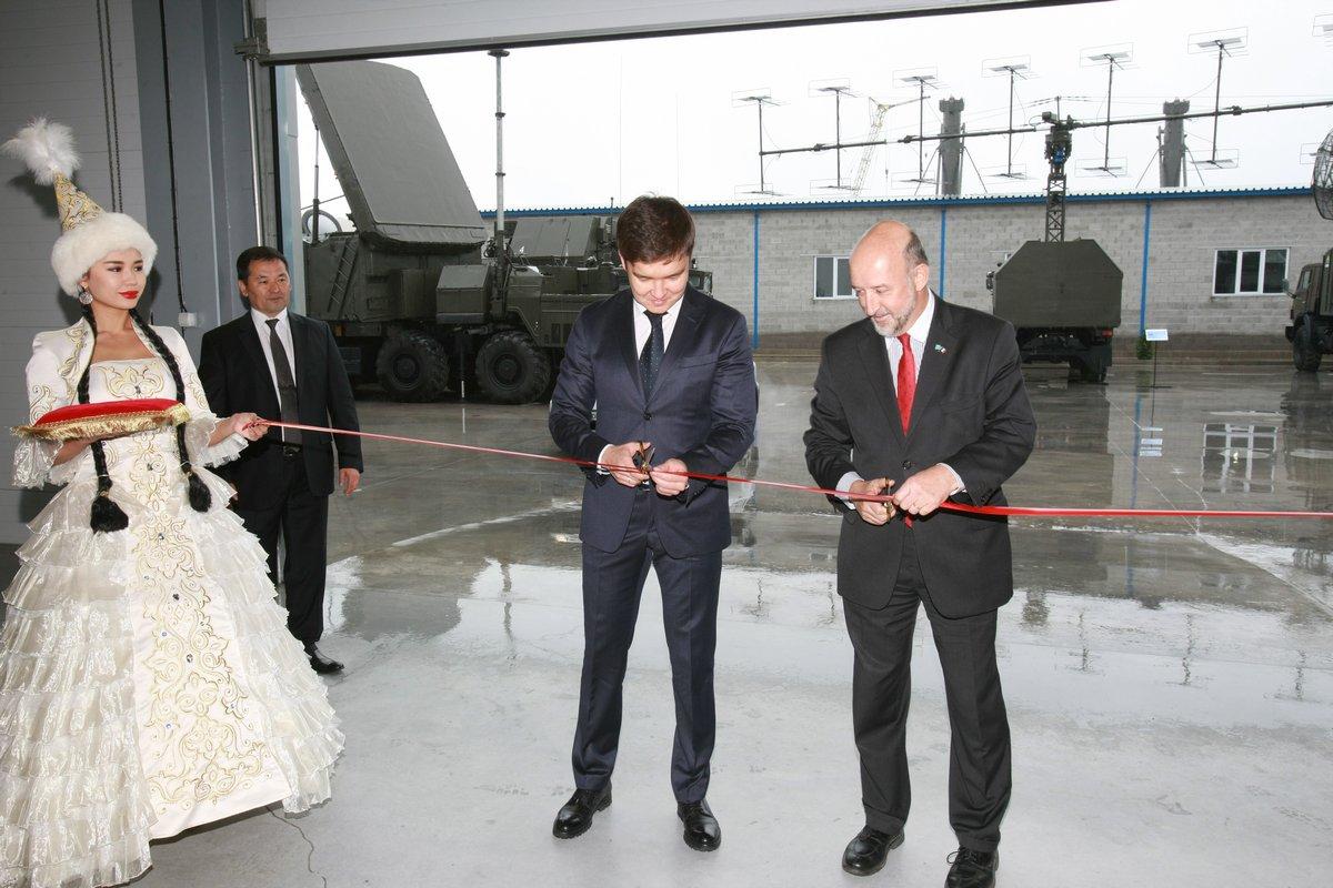 В Казахстане открыто совместное предприятие с группой Thales по сборке РЛС