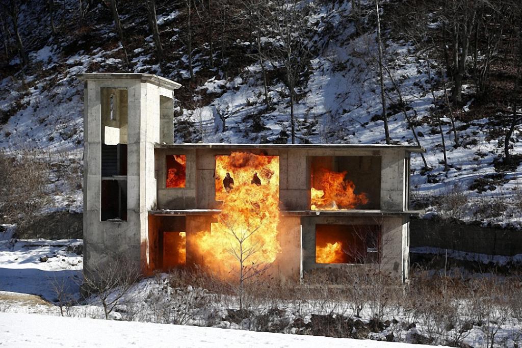 Зимние учения южнокорейского спецназа-6