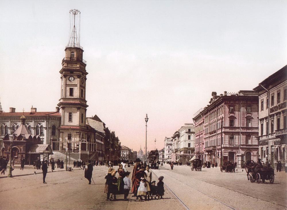Дореволюционный Петербург в цвете