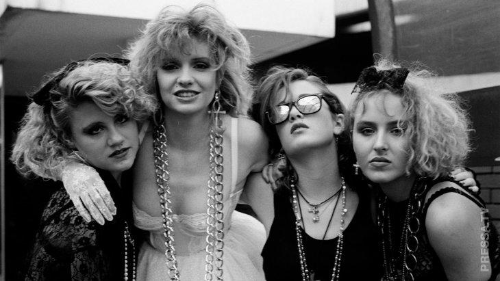 Законодатели мод 80-х годов