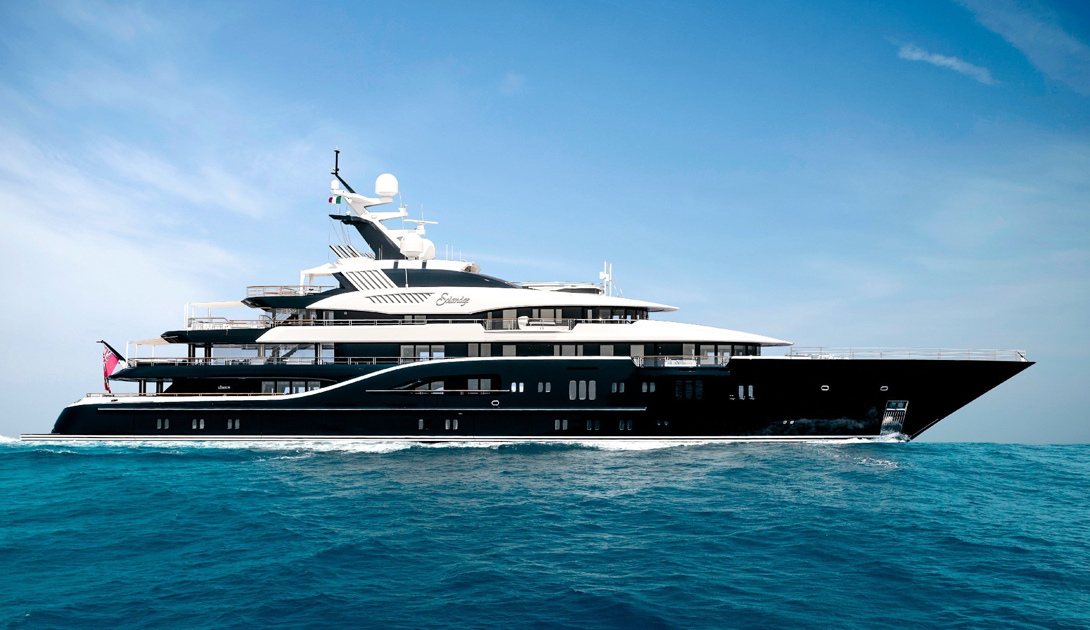 5 самых больших суперяхт с Monaco Yacht Show