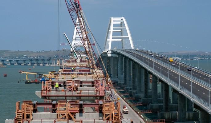 Уничтожить Крымский мост просят Бога