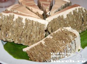 tort pechenochniy modern 16 Торт печеночный Модерн