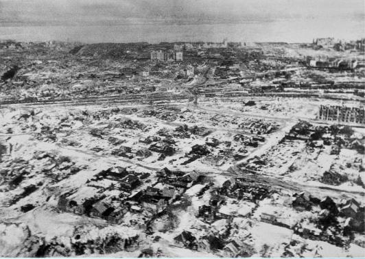 Как изменились наши города за 70 лет