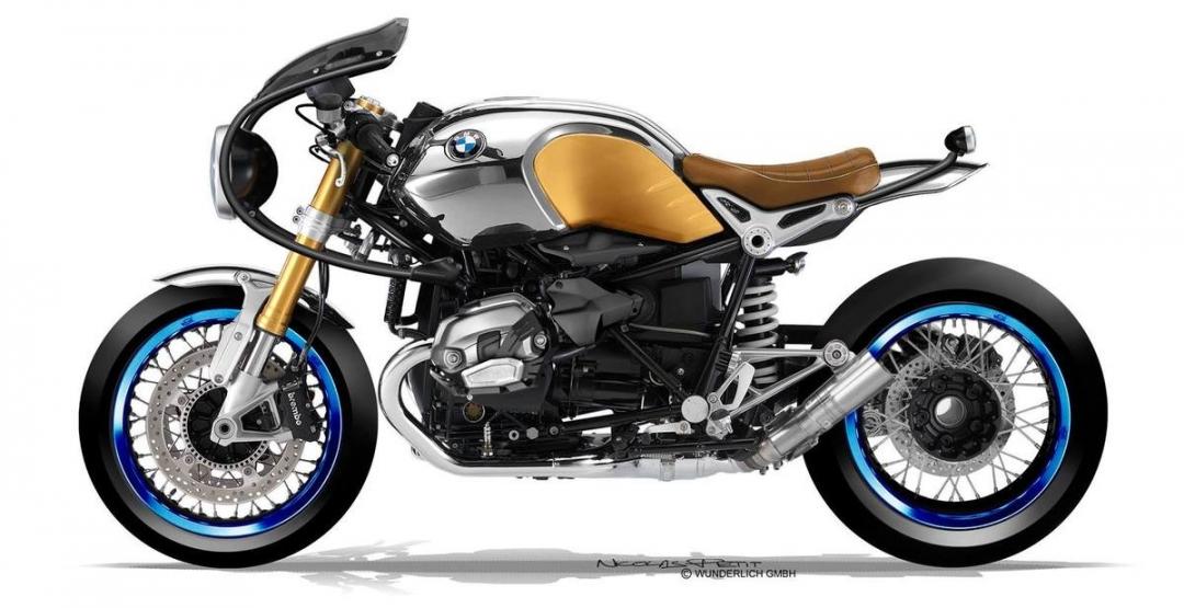 Фото R nineT, мотоцикл, Motorrad
