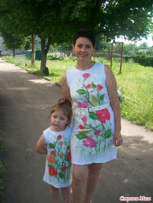 Платье из марли для девочки: мастер-класс