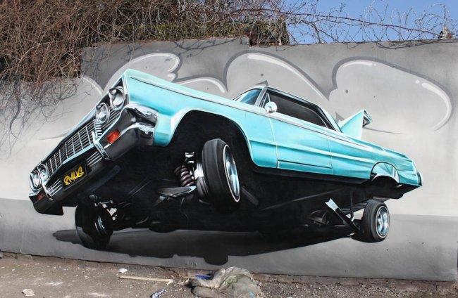 Непревзойденные граффити