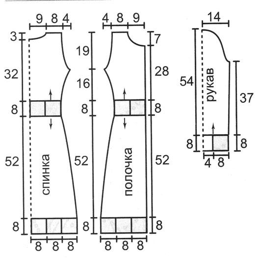 Как делать выкройки для вязания крючком