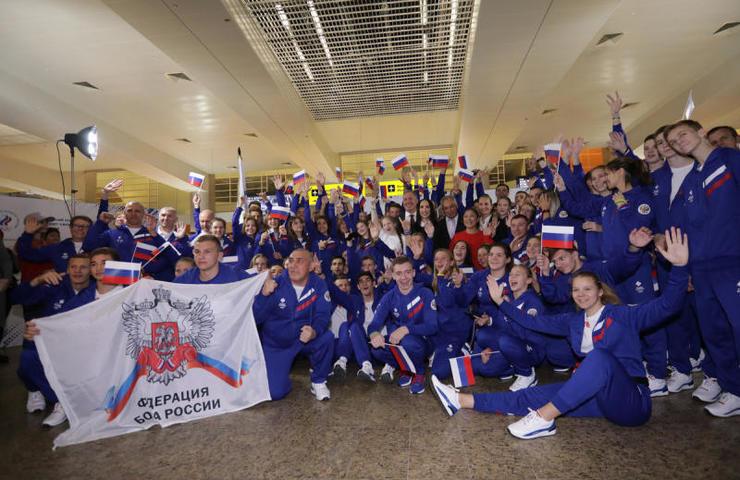 Российская молодежная сборная улетела на юношеские летние Олимпийские игры