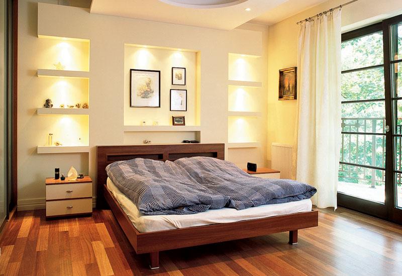 Изголовье кровати оформить