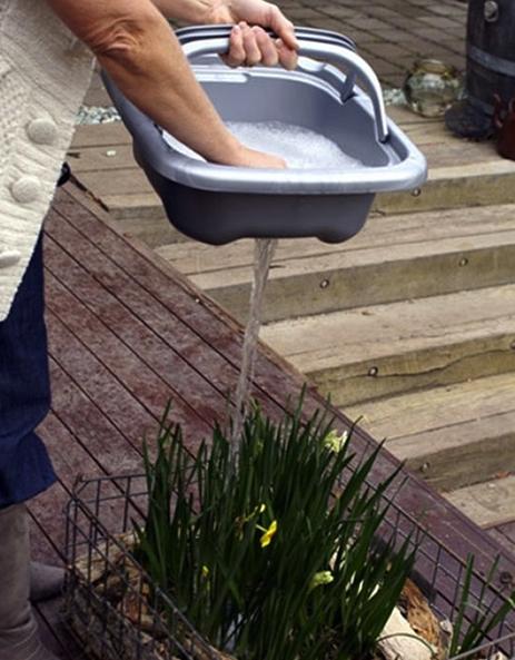 Съемная мойка для садовода