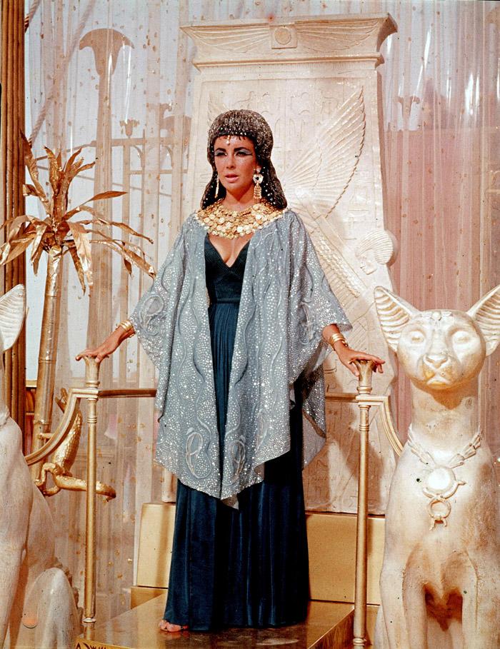 Элизабет Тейлор (Elizabeth Taylor) на съемках фильма «Клеопатра» (Cleopatra) (1963), фото 11