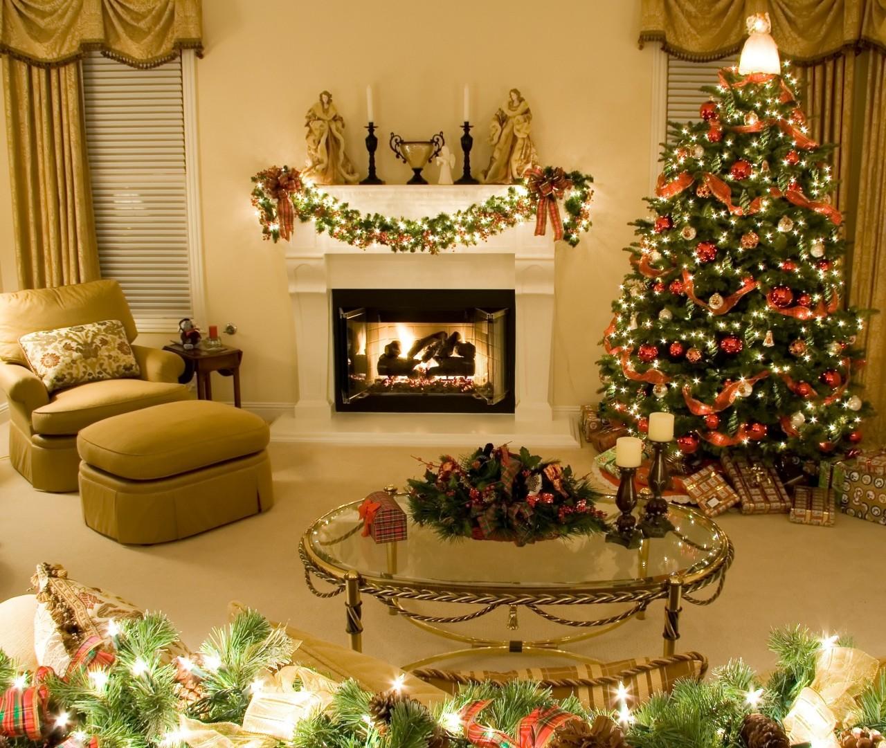 Как украсить дом на Новый год огненной обезьяны 2016.