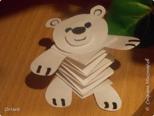 Поделки из бумаги для детей гармошкой