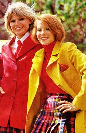 Мода и причёски 1970-х годов