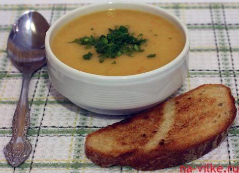 Рецепт супа-пюре из картофеля с гренками