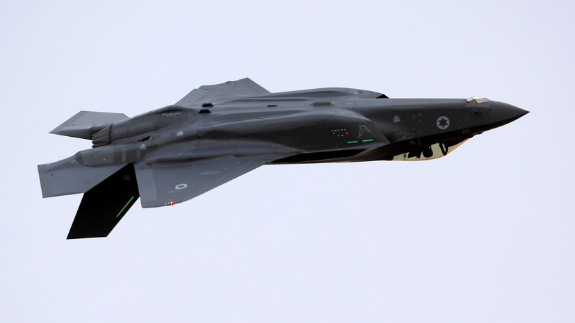 ВВС Израиля возобновили полёты истребителей  F-35