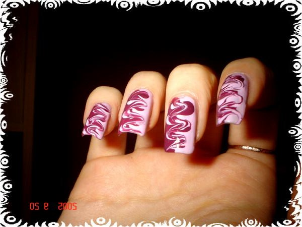 Как сделать рисунки на ногтях ютуб