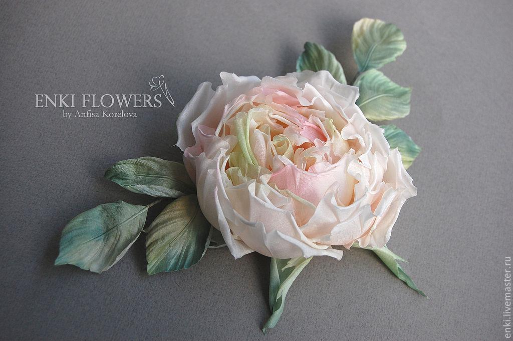Цветы из шелка своими руками