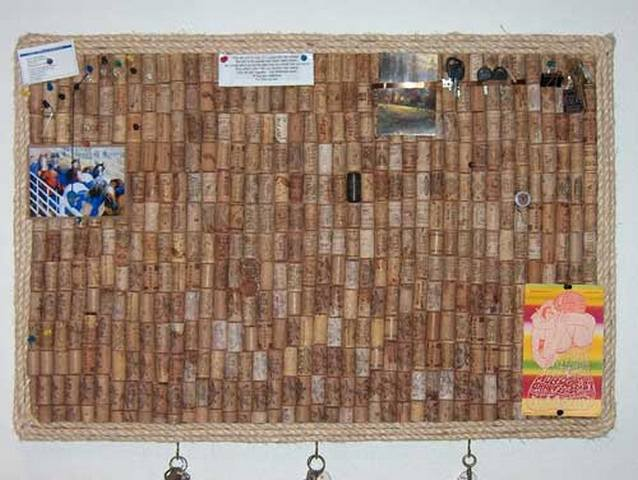 Пробковая доска на стену своими руками фото