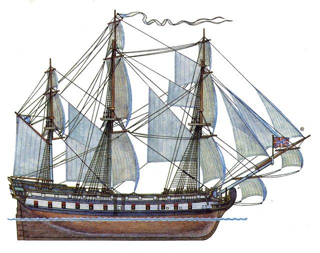 27 сентября 1783 г. 229 лет назад на воду спущен первенец Черноморского флота России 66-пушечный парусный линейный корабль «Слава Екатерины»