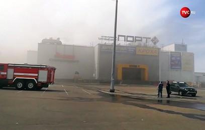 """В ТЦ """"Порт"""" не сработала пожарная сигнализация"""